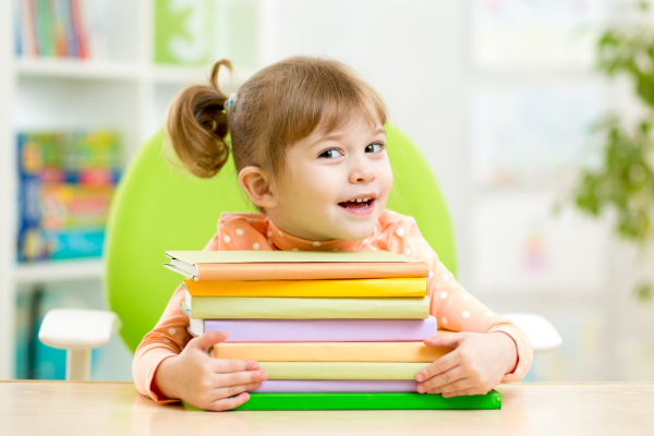 Jessica's enthusiasm to learn is one of the positive effects of reading on child development